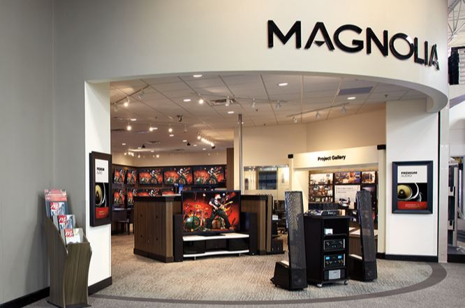 Magnolia Design Center In Route 17 N Paramus New Jersey Audio